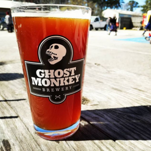 Ghost Monkey Beer in Glass