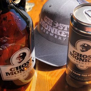 Ghost Monkey Merch & Beer