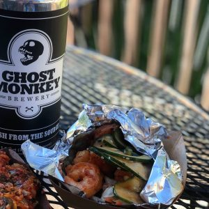 Ghost Monkey To-Go Food