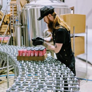 Guy Canning on Assembly Line