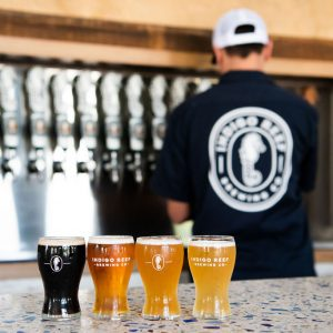 Indigo Reef Brewing Company Branding Photography by Reese Moore Photography