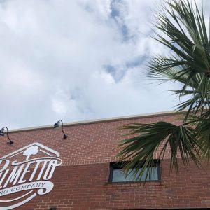 Palmetto Brand on Building