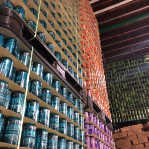 Palmetto Wall of Cans